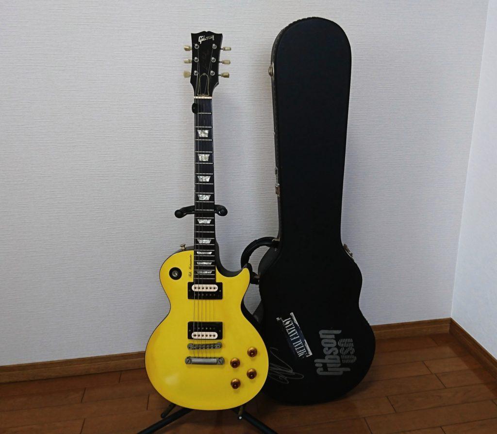 私の愛用するギター、ギブソンレスポール。